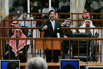 a review of the greed and totalitarian quest for power of saddam hussein The iraqi people have paid an extraordinarily high price for saddam hussein's brinksmanship — too high many thousands of the country's best and brightest were lost in the persian gulf war.