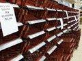 В британских магазинах исчезли продукты питания