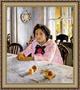 11 интересных фактов о картине гения  Девочке с персиками