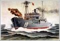 Невероятный морской бой: фашистский крейсер против советского острова