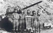 Легендарный Т-34 в боях против американцев